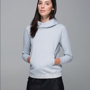Lululemon All Good Pullover Grey Size 10